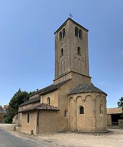 Église St Vincent St Vincent Prés Saône Loire 5.jpg