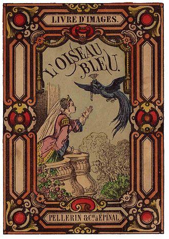 The Blue Bird (fairy tale) - Cover of an edition of The Blue Bird
