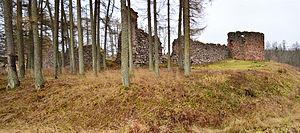 Ērģeme - Image: Ērģemes pils drupas