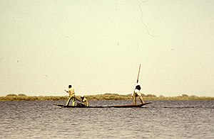Lake Chad - Kanuri tribal fishermen in 1970s