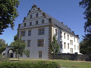 Šluknov Town in Czech Republic