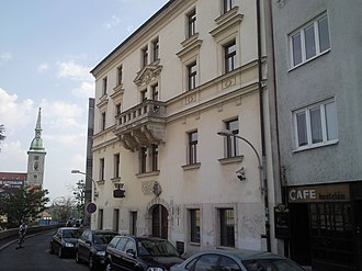 Jewish culture - Museum of Jewish culture in Bratislava