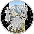 """Армения 2012, монета в 1000 драм из серебра .""""Борцы Коха"""".jpg"""