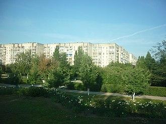 Armyansk - Apartment buildings in Armyansk