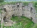 Внутрішній вигляд східної круглої вежі замку в Теребовлі.jpg