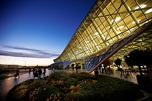 Heydar Aliyev International Airport - Image: Международный аэропорт Гейдар Алиев