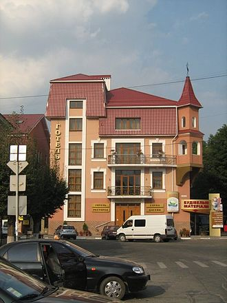 Nadvirna - Downtown Nadvirna