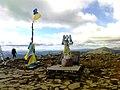 Пам'ятний знак «Птахи волі», гора Говерла, Івано - Франківська область.jpg