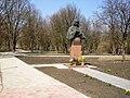 Пам'ятник-погруддя М.В.Гоголю у с. Гоголеве.jpg