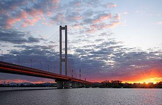 Pivdennyi Bridge (Kiev) - Pivdennyi Bridge