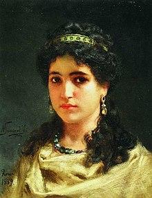 Семирадский Портрет римлянки.jpg