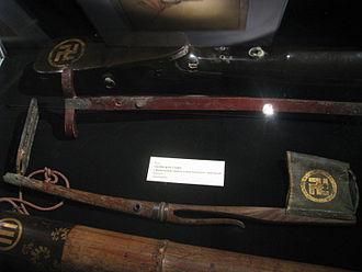 Hachisuka clan - Arrow stands of Hachisuka clan