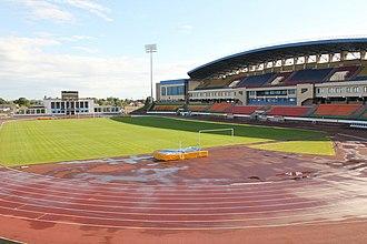 """Neman Stadium - Image: Стадыён """"Нёман"""" 9585"""