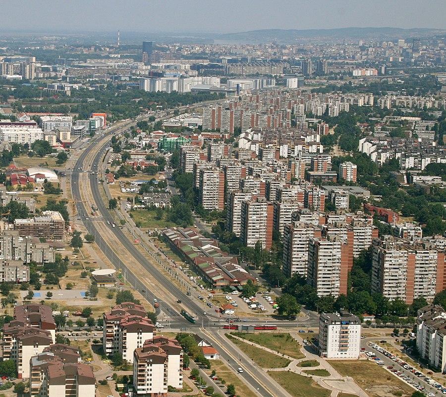 Yuri Gagarin Street, Belgrade