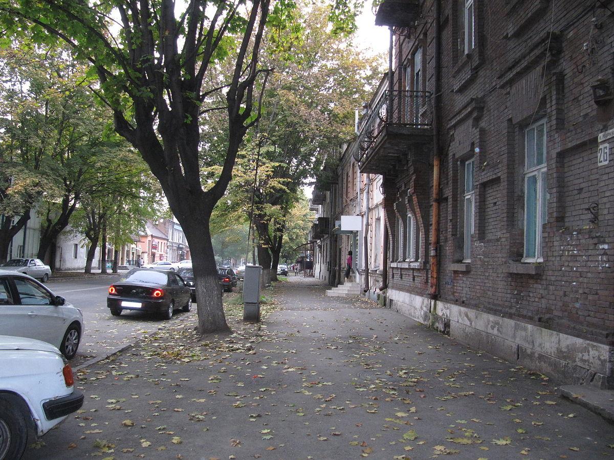 Схема улиц владикавказа
