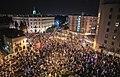 ההפגנה הגדולה בכיכר פריז בירושלים במוצאי שבת לפני הבחירות לכנסת ה-24.jpg