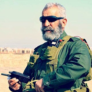 Major General of the Syrian Republican Guard