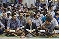 عکس های مراسم ترتیل خوانی یا جزء خوانی یا قرائت قرآن در ایام ماه رمضان در حرم فاطمه معصومه در شهر قم 24.jpg