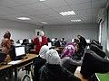 ورشة تدريبية عن الويكيبيديا في مدرسة البيان في الاردن14.JPG