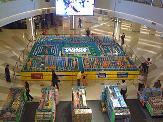 Tomy Japanese toy, childrens merchandise and entertainment company