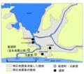 明応地震前の浜名湖図(lake of Hamanako was damaged by tsunami in Meiou - Toukai earthquake in 1498.).png