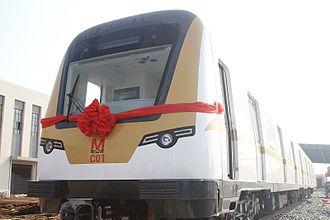 Wuhan Metro - Line 3 train