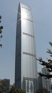 KK100 Skyscraper in Shenzhen, Guangdong, China