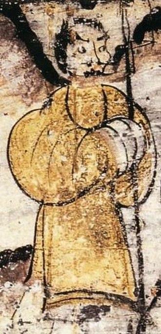 Fan Zeng - Fan Zeng as depicted in a Han dynasty fresco