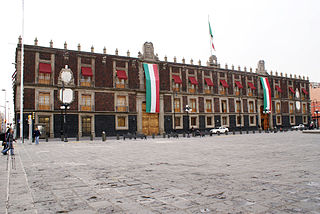 Old Customs Buildings, Mexico City