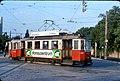 024L34050876 Schüttaustraße Wagramerstraße ,Strassenbahn, Typ M 4057, Linie 25, (Notbetrieb Kaisermühlen Kagran).jpg