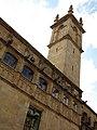 030 Generalitat de Catalunya, pati dels Tarongers, torre.JPG