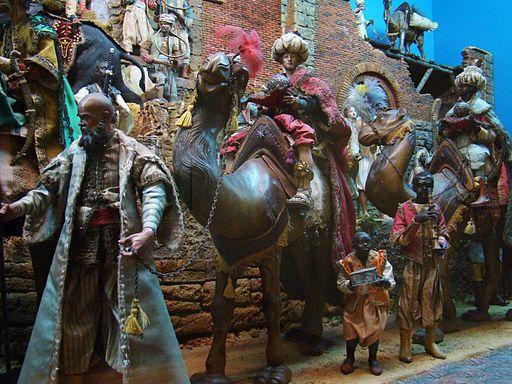 05 Belen napolitano Reyes Magos Museo Escultura Valladolid ni