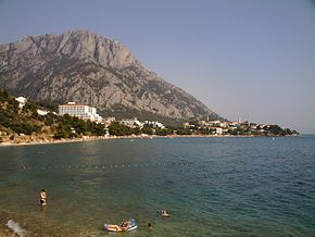 Carte Croatie Gradac.Comuna Gradac Split Dalmația Wikipedia