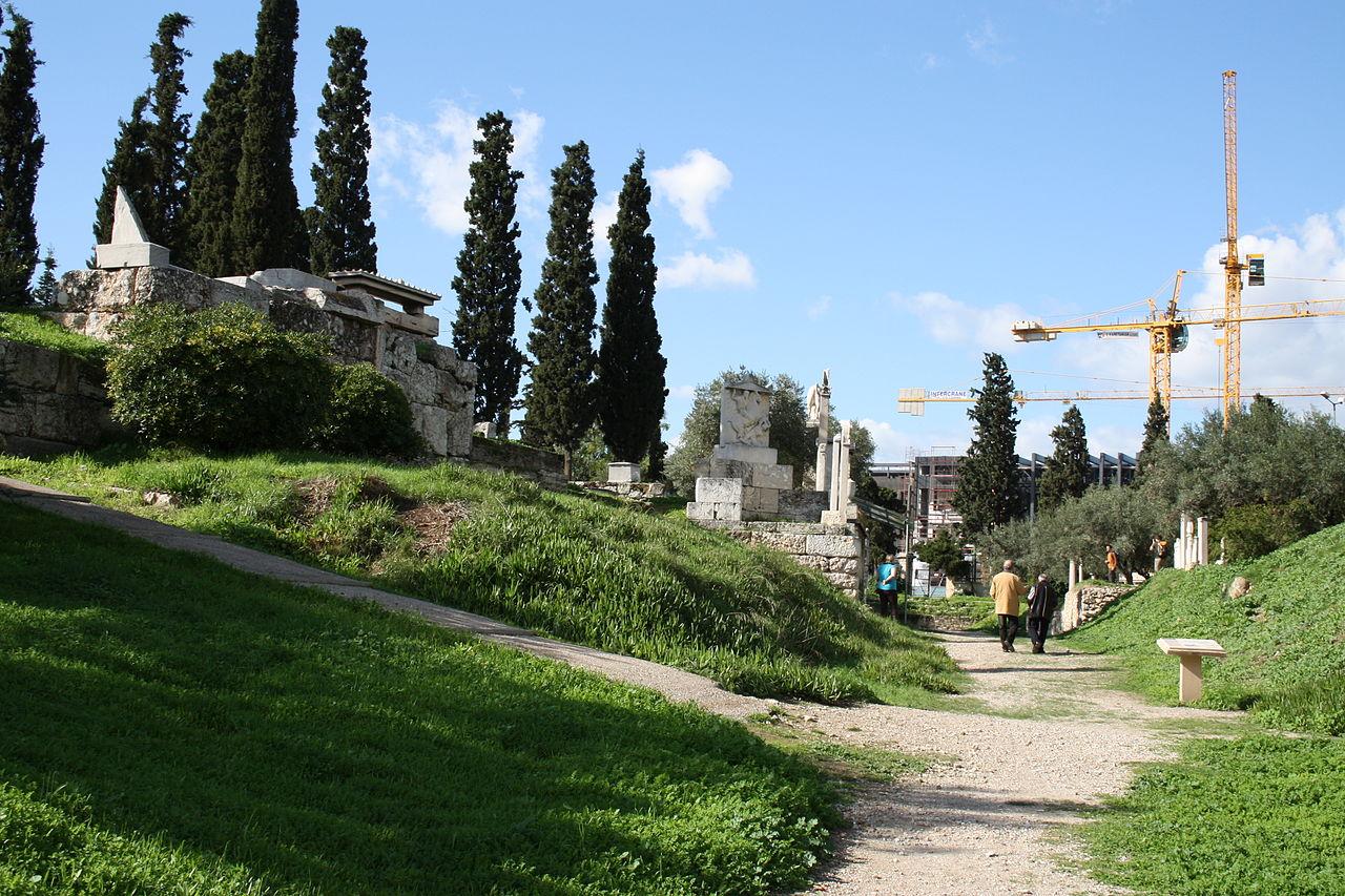 0953 - Keramikos cemetery, Athens - Grave for Ierònimos - Photo by Giovanni Dall'Orto, Nov 12 2009.jpg