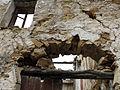 099 Casalot abandonat de Marmellar, ruïnes de la façana.JPG