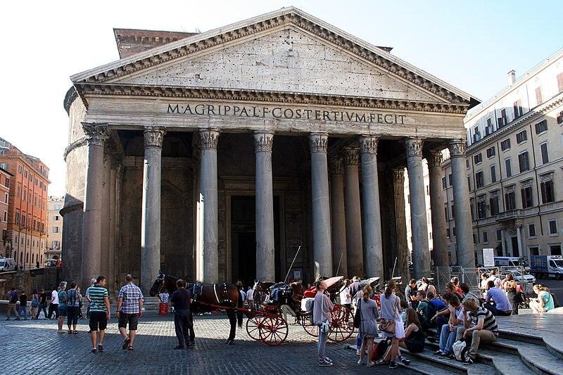 File:0 Pantheon - Piazza della Rotonda - Rome (1a).JPG