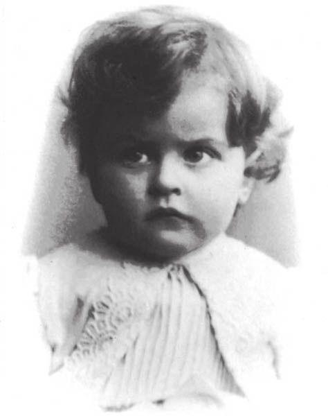 1. The infant Ludwig Wittgenstein
