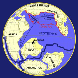 Geology of the Himalaya - Image: 100 global