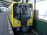 U-Bahn der neuesten Baureihe HK