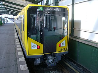 Berlin U-Bahn - The HK-type U-Bahn train, introduced in 2005