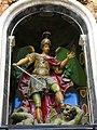 102 Església de Sant Miquel dels Reis (València), altar major, Sant Miquel vencent el dimoni.jpg