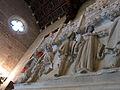103 Castell de Santa Florentina (Canet de Mar), saló del tron, llar de foc.JPG
