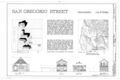 108-114 San Gregorio Street (Buildings), Pescadero, San Mateo County, CA HABS CAL,41-PESC,1- (sheet 1 of 1).png