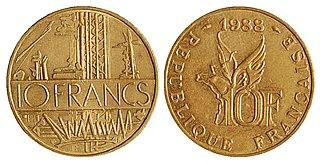 ehemalige Währung Frankreichs