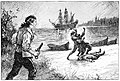 12 He stabbed the second man-Illustration by Paul Hardy for Rogues of the Fiery Cross by Samuel Walkey-Courtesy of British Library.jpg