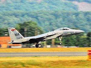 131st Fighter Squadron - 131st Fighter Squadron - McDonnell Douglas F-15C-21-MC Eagle 78-0476