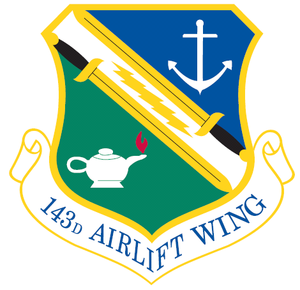 143d Airlift Wing - Image: 143d Airlift Wing