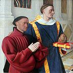 1454 Fouquet Étienne Chevalier mit dem hl. Stephanus anagoria.JPG