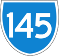 145 based on Australian State Route.png