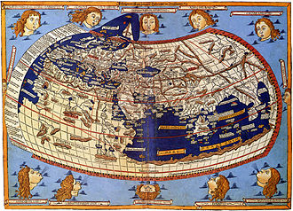 Nicolaus Germanus - Johannes Schnitzer's world map from Holle's 1482 edition of Ptolemy's Geography.
